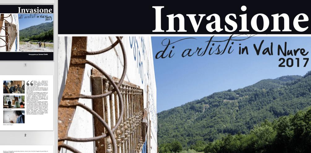 Invasione di artisti in Val Nure