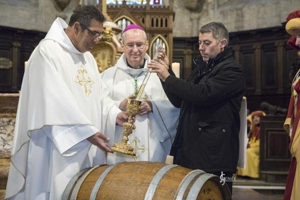 Percée du Vin jaune – Office religieux